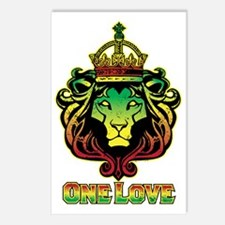One Love Lion Postcards (Package of 8)