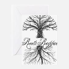 Roots Reggae Designs-7 Greeting Card