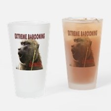 Extreme Babooning Drinking Glass
