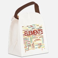 Chemical Elements Canvas Lunch Bag