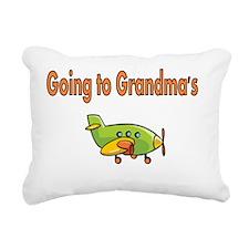 Going to Grandmas with A Rectangular Canvas Pillow