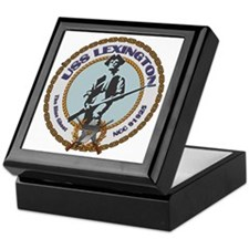 USS Lexington Keepsake Box