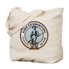 USS Lexington Tote Bag