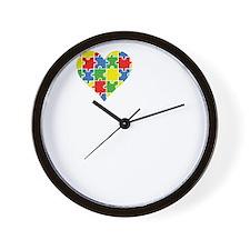 loveAutisticSon1B Wall Clock