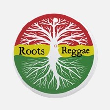 Roots Reggae Round Ornament