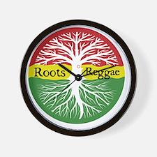 Roots Reggae Wall Clock