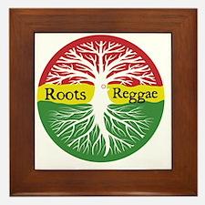 Roots Reggae Framed Tile