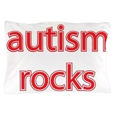 Autism rocks Pillow Case
