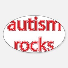 Autism rocks Decal