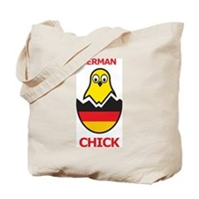 German Chick Tote Bag