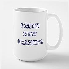 Proud New Grandpa Ceramic Mugs