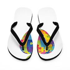 awarenessAut1C Flip Flops