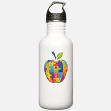 teachCompass1B Water Bottle