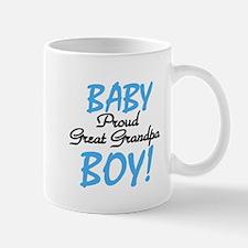 Baby Boy Great Grandpa Mug