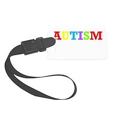 Autism Awareness Luggage Tag