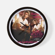 Bare It All book cover Wall Clock