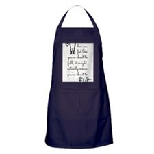 When you feel like youre about to fal Apron (dark)
