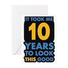 10_years Greeting Card