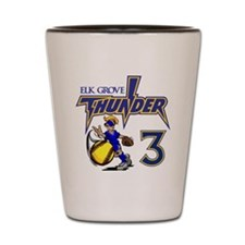 Pitcher 3 Shot Glass