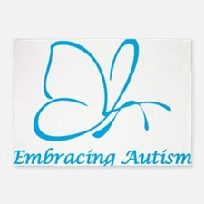 Embracing Autism 5'x7'Area Rug