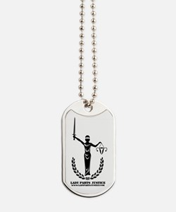 Cute Justice Dog Tags