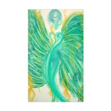 Inner Peace Angel Card Decal