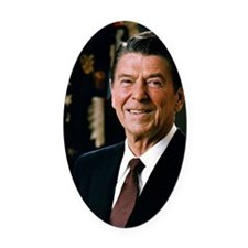 President Ronald Reagan Oval Car Magnet