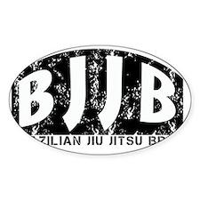 Brazilian Jiu Jitsu Brat Decal