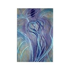 Spiritual Transformation Angel Ca Rectangle Magnet