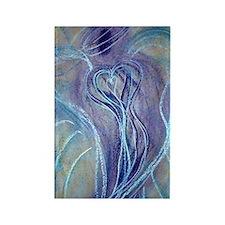 Spiritual Transformation Angel Ca Rectangle Magnet