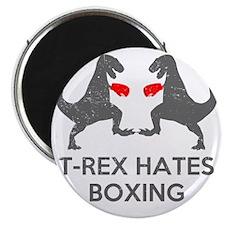 T Rex Hates Boxing Magnet