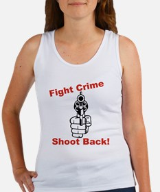 Fight Crime Women's Tank Top