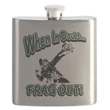 When In Doubt...Frag Out! Flask