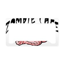 Zombie Cafe License Plate Holder