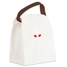 T Rex Hates Boxing Canvas Lunch Bag