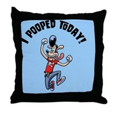 i-pooped-dog-BUT Throw Pillow