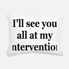 interventionrectangle Rectangular Canvas Pillow