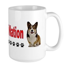 I Love Corgi Nation License Plate Mug