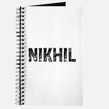 Nikhil Journal