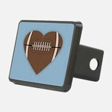 football-heart-CRD Hitch Cover