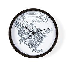 War midst the Heavens (The original Sta Wall Clock