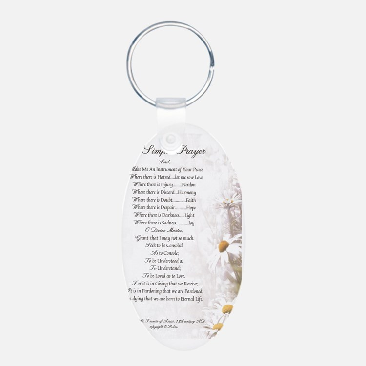 Pope Francis St. Francis SI Keychains