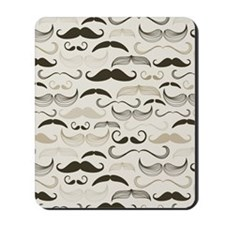 Mustaches Mousepad
