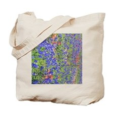 Texas Blue Bonnets Tote Bag
