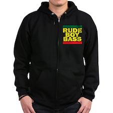 Rude Boy Bass Zip Hoody