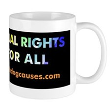 Equal Rights for All bumper sticker/mag Mug