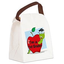 Im a 1st grader Canvas Lunch Bag