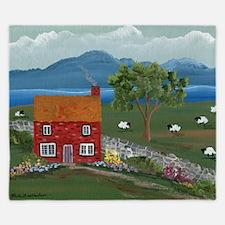 Dream Cottage King Duvet