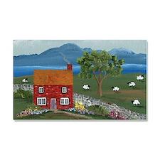 Dream Cottage Car Magnet 20 x 12