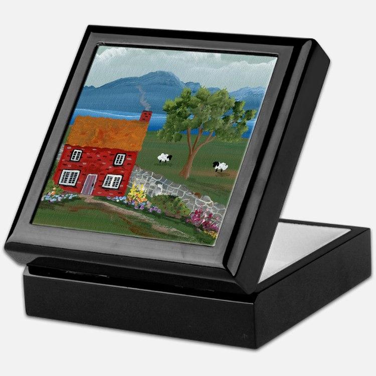 Dream Cottage Keepsake Box